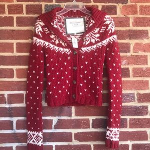 Abercrombie & Finch NEW sz S Chunky Knit Sweater